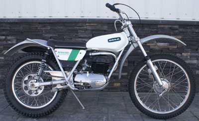 1973 OSSA 250 Older Restoration Real Nice And Clean Runs Rides SOLD